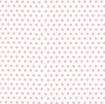 Pink Polka Dot  3 x 7.5 inch Cellophane Bags