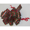 Jumbo Plaid Pull Bows 8 inch