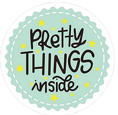 stickers Pretty Things Inside - Mint