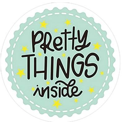 stickers Pretty Things Inside - Mint