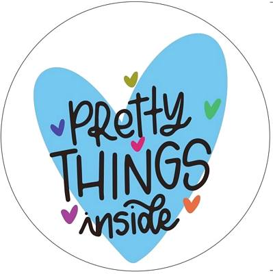 stickers Pretty Things Inside - Ocean