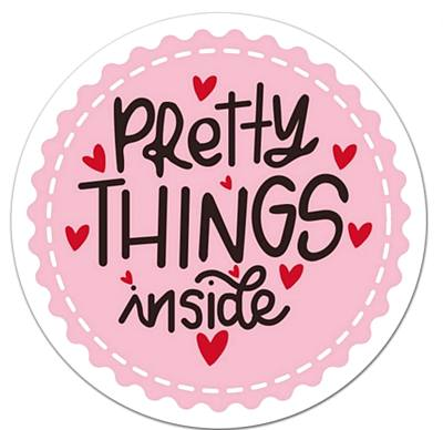 stickers Pretty Things Inside