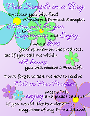 Product Sample Cards