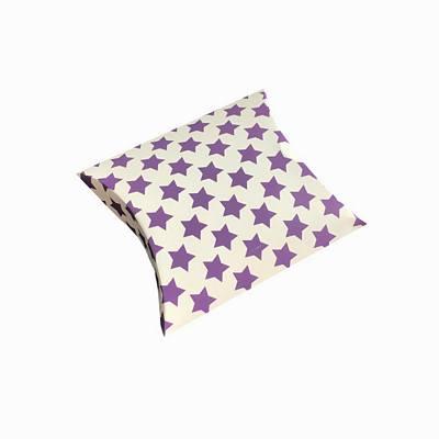 Purple stars pillow boxes