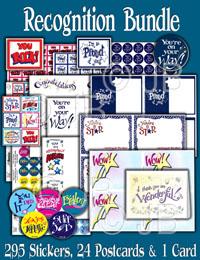 Recognition Bundle Sticker