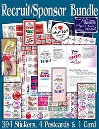 Recruit / Sponsor  Bundle Stickers