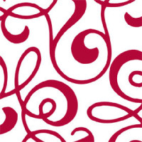 Red Allegro Cellophane Roll 24 x 100