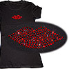 A Dazzling Red Lip Tee
