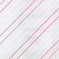 Red and White Diagonal Stripes Cello Roll 24 x 50