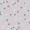 Retro Flowers II Literature Bag 7 x 11
