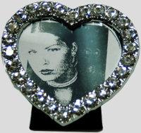 Frame Rhinestone Heart
