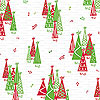 Rockin Christmas Tree Cellophane Roll 24 x 100