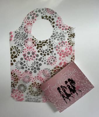 Doorknob Go Bags 9x7.5 Rosey Dots