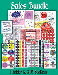 Sales Bundle Stickers