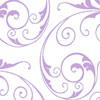Lavender Sassy Swirl Cellophane Roll 24 x 100