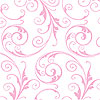 Sassy Swirls Light Pink Self Sealing Cellophane Bags