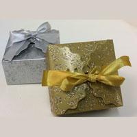 Sparkling Satin Bow Box