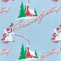 Seasons Greetings Cello Roll 24 x 50