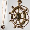 Necklace Golden Nautical