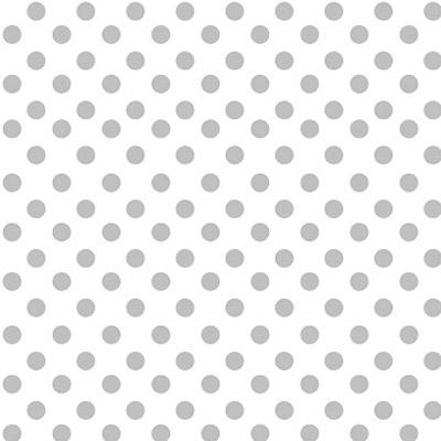 silver dots cellophane bag