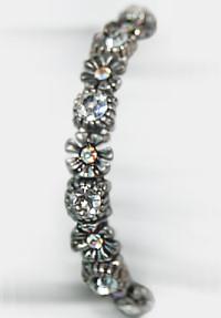Bracelet Silver Daisies