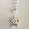 Silver Star Necklace