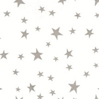 6x9.5 inch Silver Stars Self-Sealing Flat Cello Bags