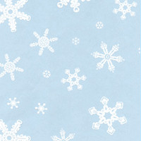 Snowflakes 7 x 18 inch Cellophane Bags
