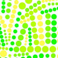 Social Circles Green Yellow Cellophane Roll 24 x 100
