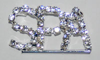 Spa Rhinestone Pin