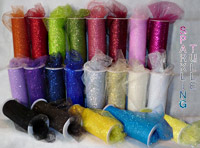 Sparkling Tulle Rolls