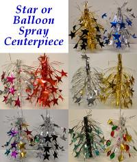 Star or Balloon Spray Centerpiece
