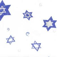 Hanukkah Stars 5 x 11 inch Cellophane Bags