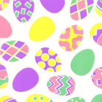 Easter Eggs Cellophane Roll 24 x 100