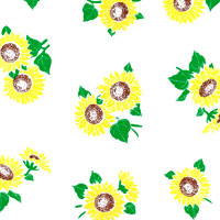 Sunflowers Cello Roll 24 x 50