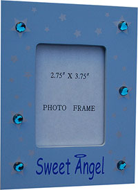 Sweet Angel Frame w/Rhinestone Touch