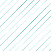 Teal Diagonal Stripes Cello Roll 24 x 50