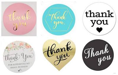 Stickers - Thank You Assortment