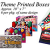 Gift Boxes with Printed Themes