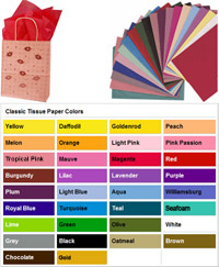 Tissue Solid Colors