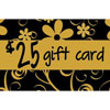 25 Dollar Gold Gift Cards