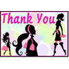 Thank You Card with Divas