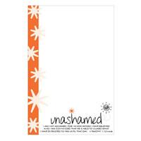UNASHAMED Caddy Refill Notes