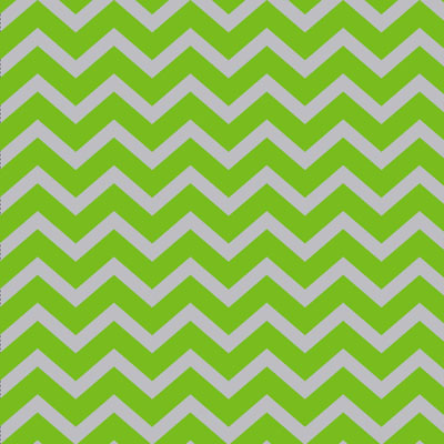 Green Chevron 4x9 inch Cellophane Bags