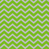 Green Chevron 6 x 13 inch Cellophane Bags