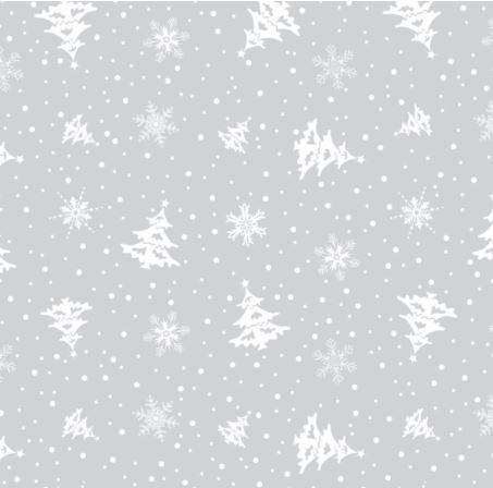 Winter Flurry 4 x 9 inch Cellophane Bags