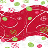 Winter Flurry Cellophane Roll 24 x 100