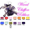 "Classic Chiffon Wired Ribbon 1.5"" wide"