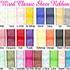 Ribbon Classic Wired Sheer