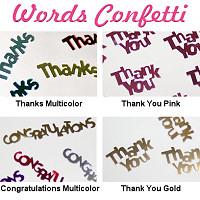 Words Confetti